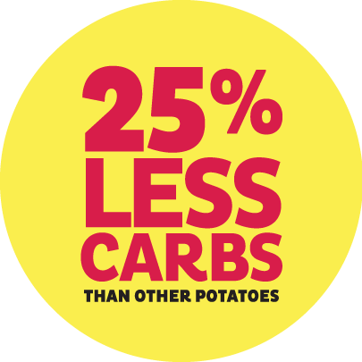 spud lite Potatoes 25 percent less carbohydrates