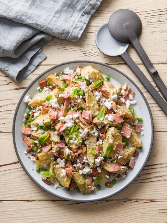 Pesto Spud Lite Salad