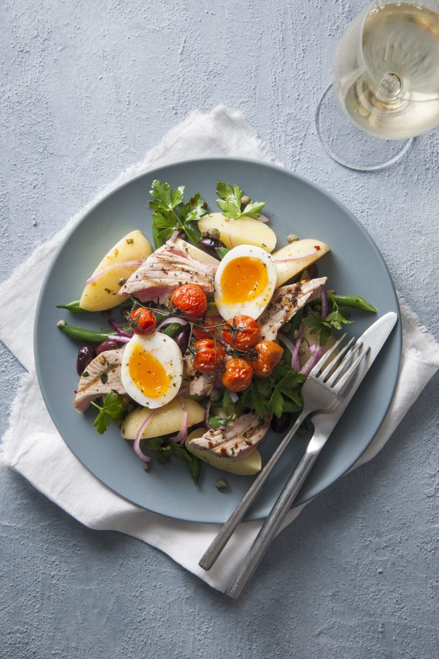 Tuna Salad Nicoise with Spud Lite